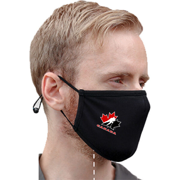 2-Layer Adjustable Mask Decorated