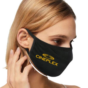 Cotton Spandex Mask Decorated