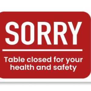 Table Closed